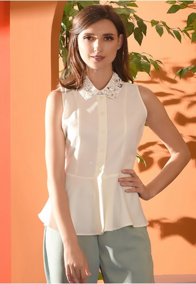 Romantic Interlude Orazia Sleeveless Top