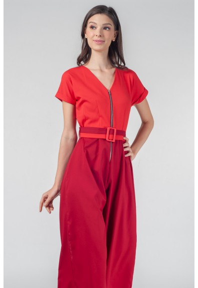RedSeries Grus Short Sleeves Pantsuit