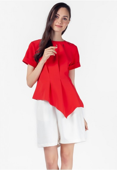 VELVET ROSE PERTH SHORT SLEEVES TOP