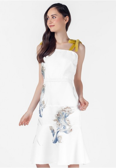 THE ZODIAC PISCES SLEEVELESS DRESS