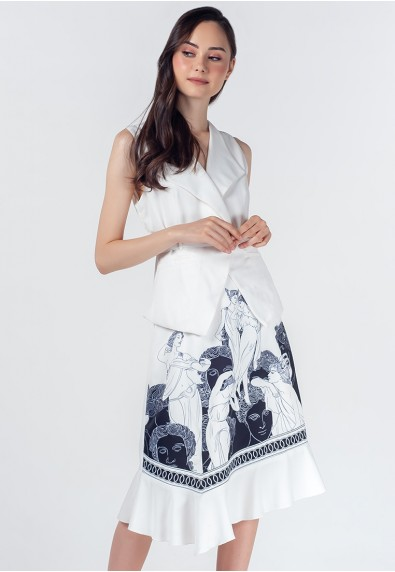 THE ZODIAC CAPRICORN SLEEVELESS DRESS