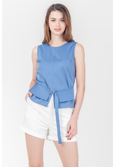 SPRING HARVEST SPEARS SLEEVELESS TOP