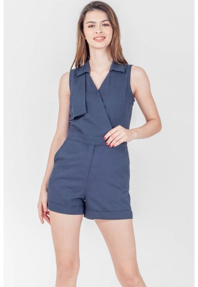 SPRING HARVEST STENDAHL SLEEVELESS PLAYSUIT