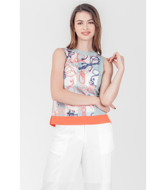 SPRING HARVEST STAFFORD SLEEVELESS TOP