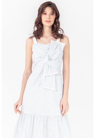 NATURAL TAHOE SLEEVELESS DRESS