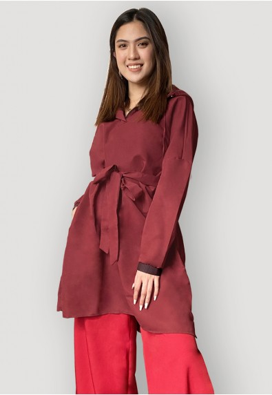 Multipurpose Outerwear - Maroon
