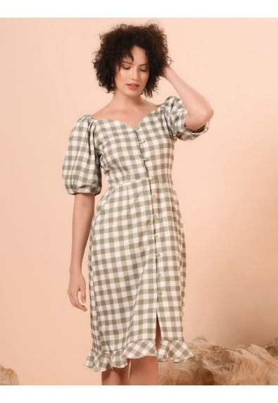 VENICE SHORT SLEEVES DRESS
