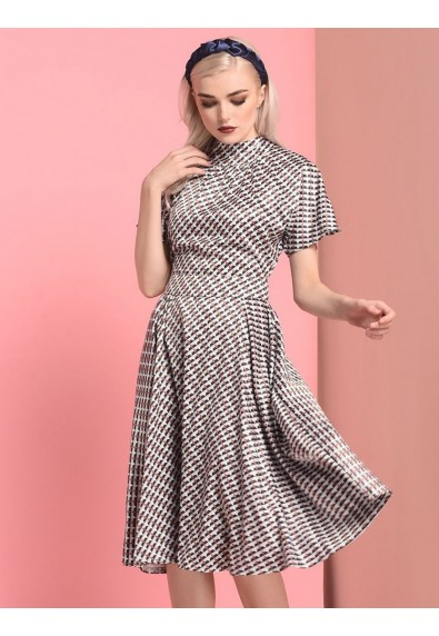 STRUFFLE SHORT SLEEVE DRESS