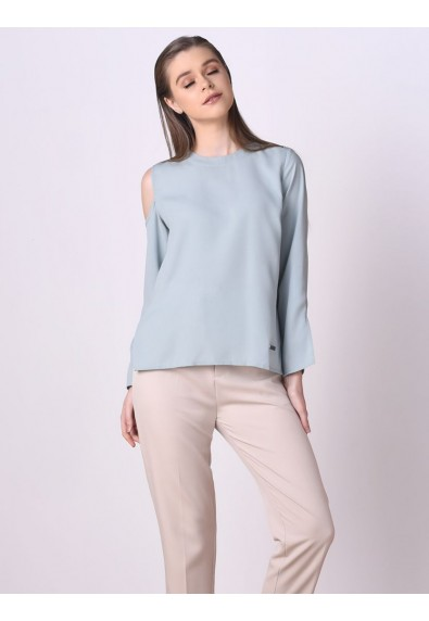 OMBRE LONG SLEEVE TOP