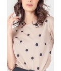 NATURAL TERRY LONG SLEEVES TOP