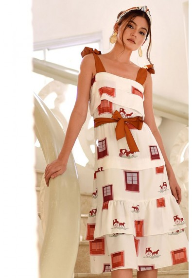 PAMANA VINTANA SLEEVELESS DRESS
