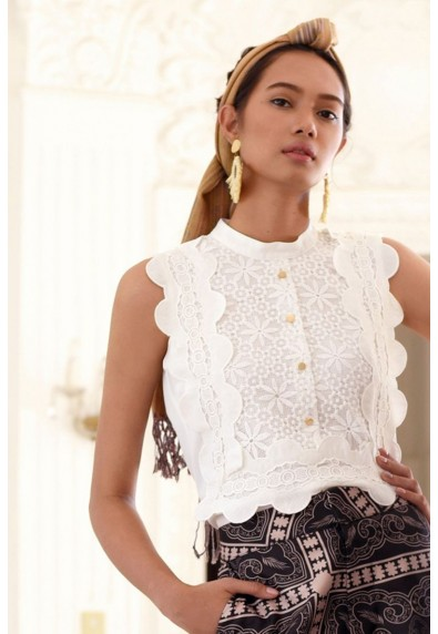 PAMANA BARONG SLEEVELESS TOP