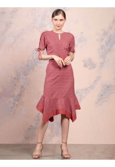 JOYFUL REBIRTH WEISS SHORT SLEEVES DRESS
