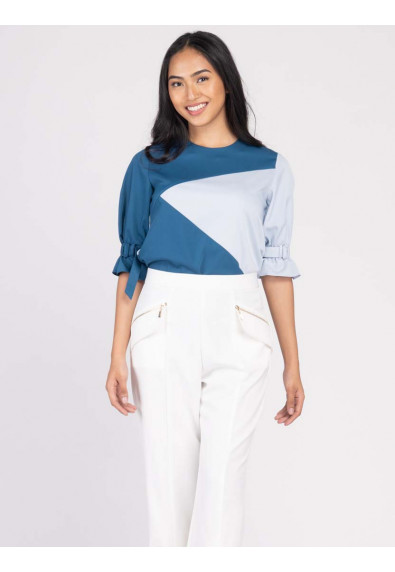 JOYFUL REBIRTH WANZA QUARTER SLEEVES TOP