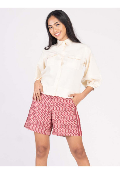 JOYFUL REBIRTH WABLER QUARTER SLEEVES TOP