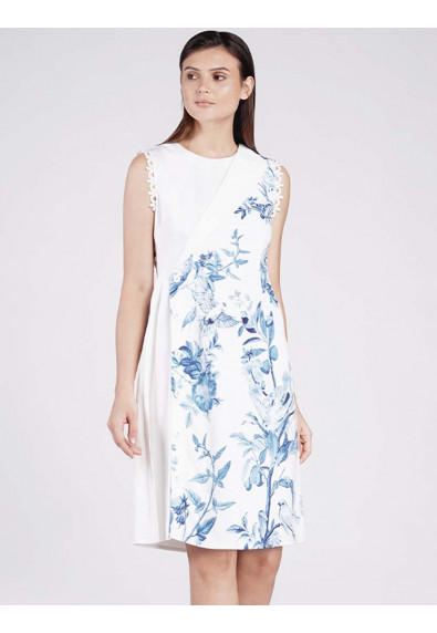 EUPHORIC HOPE FAITH SLEEVELESS DRESS