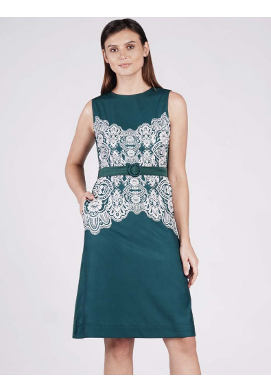 EUPHORIC HOPE OPTIMISM SLEEVELESS DRESS