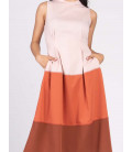 JOYFUL REBIRTH WANZA SLEEVELESS DRESS