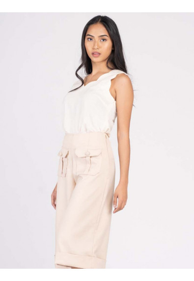 JOYFUL REBIRTH WILEY SLEEVELESS TOP
