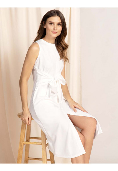 ELEVATED EVERYDAY ALEC SLEEVELESS DRESS