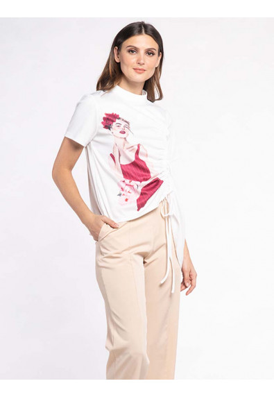 FANCIFUL WANDERLUST XANTHIS SHORT SLEEVES TOP