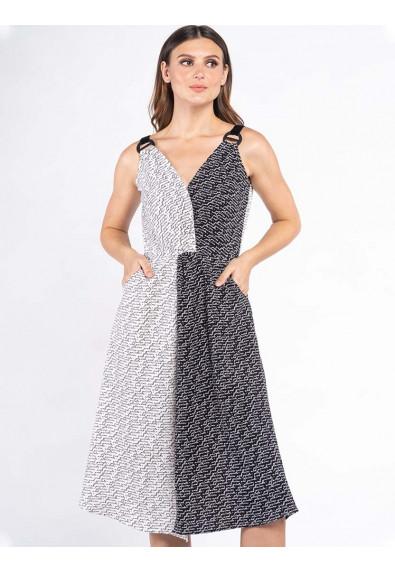 FANCIFUL WANDERLUST XIA SLEEVELESS DRESS