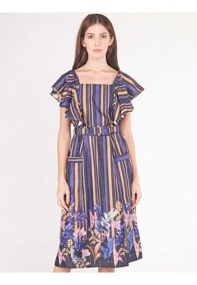 LUSH ISLAND ALLOYSIA SLEEVELESS DRESS