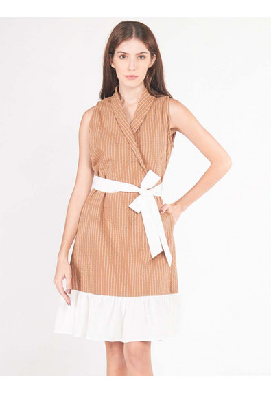 LUSH ISLAND ALPINIA SLEEVELESS DRESS