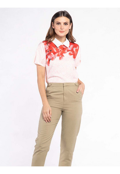 FANCIFUL WANDERLUST XYLINA SHORT SLEEVES TOP