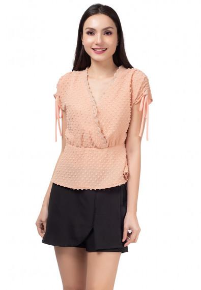Blissful Harmony Mhiel Short Sleeves Top