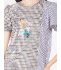 EXOTIC ESCAPES BUTTERCUP SHORT SLEEVES TOP