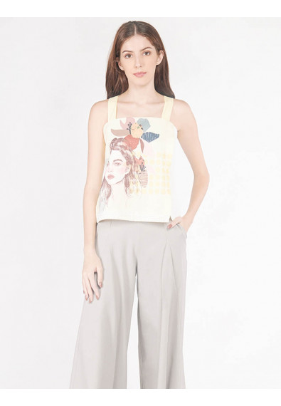 EXOTIC ESCAPES BELLA SLEEVELESS TOP