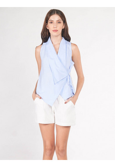 EXOTIC ESCAPES BERNICEE SLEEVELESS TOP