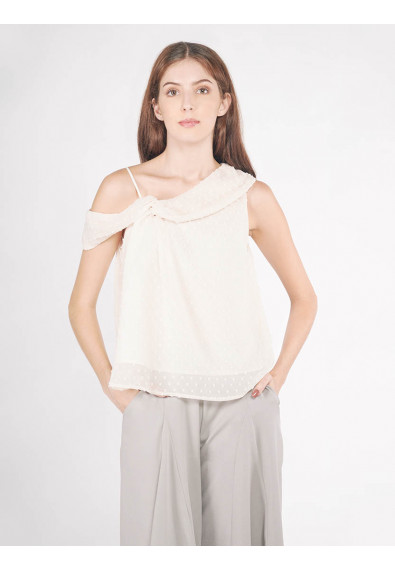 EXOTIC ESCAPES BALLOTA SLEEVELESS TOP