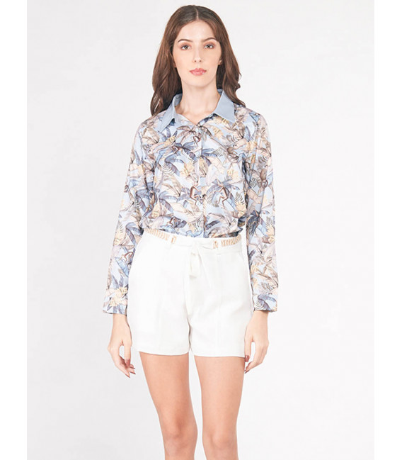 EXOTIC ESCAPES BROSSICA LONG SLEEVES TOP