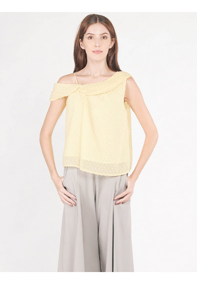 EXOTIC ESCAPE BALLOTA SLEEVELESS TOP