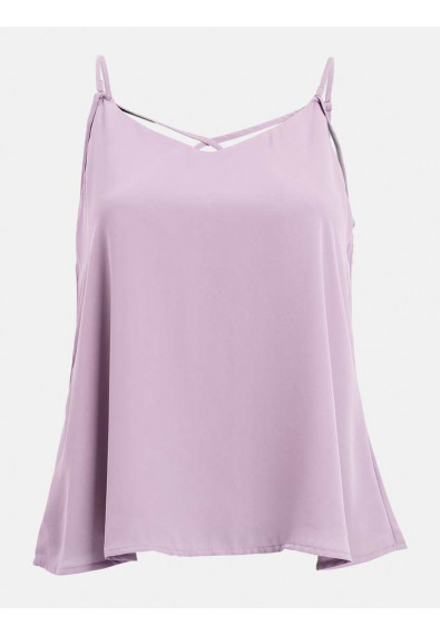 RED CURRANT QUINTUS SLEEVELESS TOP