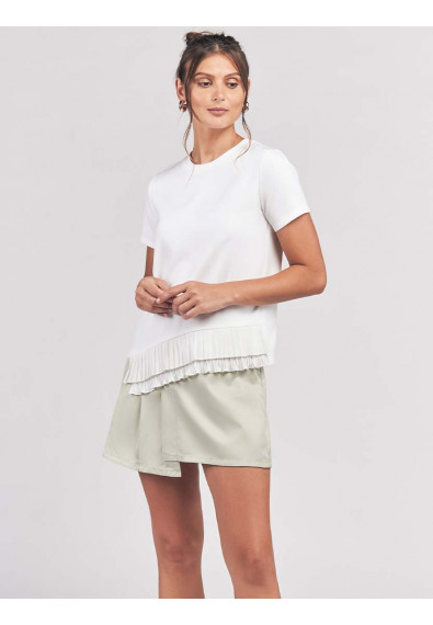 CARELL SHORT SLEEVES TOP