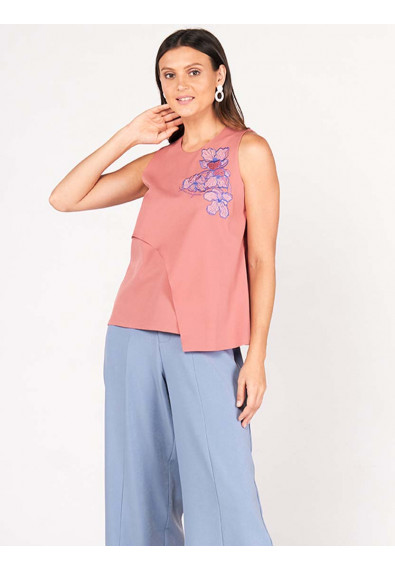 SURVIVE AND THRIVE DESIRAE SLEEVELESS TOP