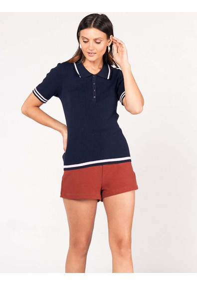 SURVIVE AND THRIVE DAFNE SHORT SLEEVES TOP