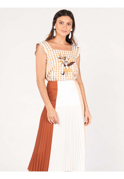 SURVIVE AND THRIVE DIORA SLEEVELESS TOP