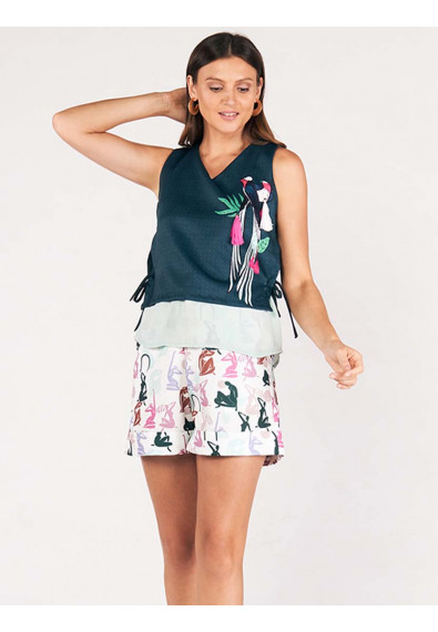 SURVIVE AND THRIVE DUCHIE SLEEVELESS TOP