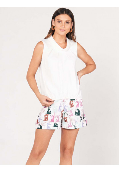 SURVIVE AND THRIVE DEVANY SLEEVELESS TOP