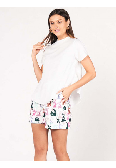 SURVIVE AND THRIVE DEVANY SHORT SLEEVES TOP