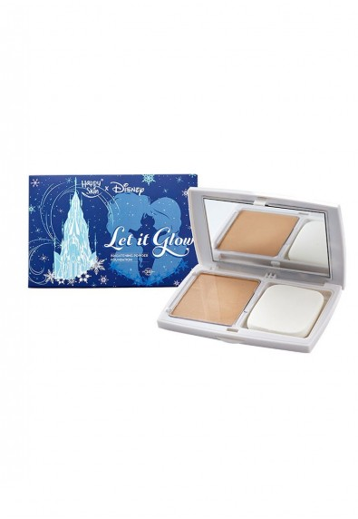 Let It Glow Brightening Powder Foundation in Soft Beige