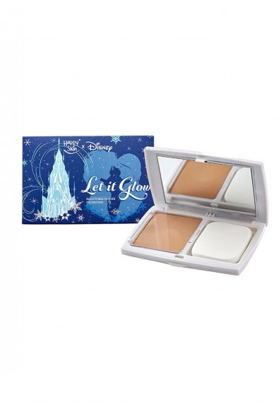 Let It Glow Brightening Powder Foundation in Natural Beige