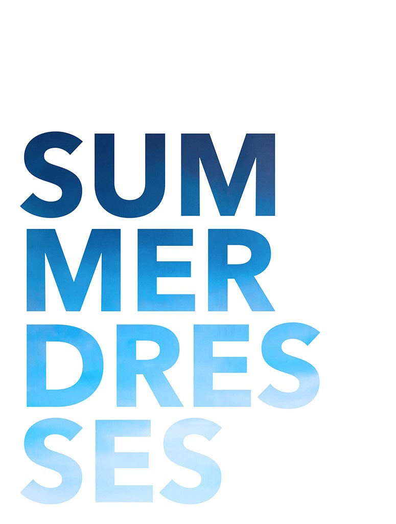 Spring-Summer 2018: Summer Dresses Collection