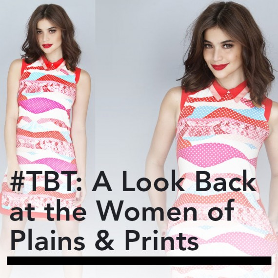 #TBT: A Look Back at the Women of Plains & Prints