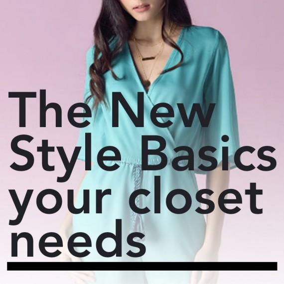 The New Style Basics Your Closet Needs