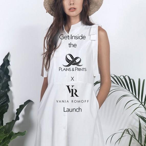 Get Inside the Plains & Prints X Vania Romoff Launch